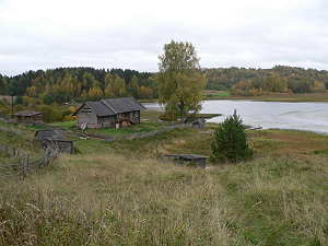 One of the last villages (they were 125 around the lake, only 5 now)