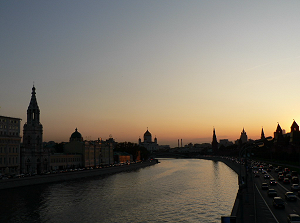 15/09/09 One night in Moscow before the departure to (Plesetsk)