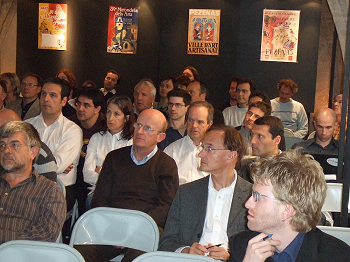Audience captivated by the presentations