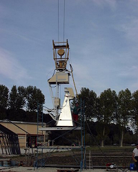 Polarimetric radiometer EMIRAD (TUD) on Avignon site (2001)