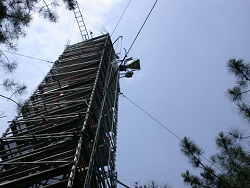 Danish instrument installed on Bray site (Landes forest)