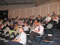 Attentive attendance of the project team